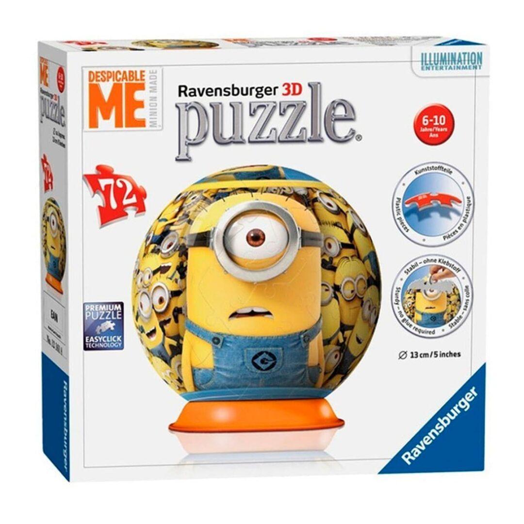 3D Puzzle Minions rompecabezas