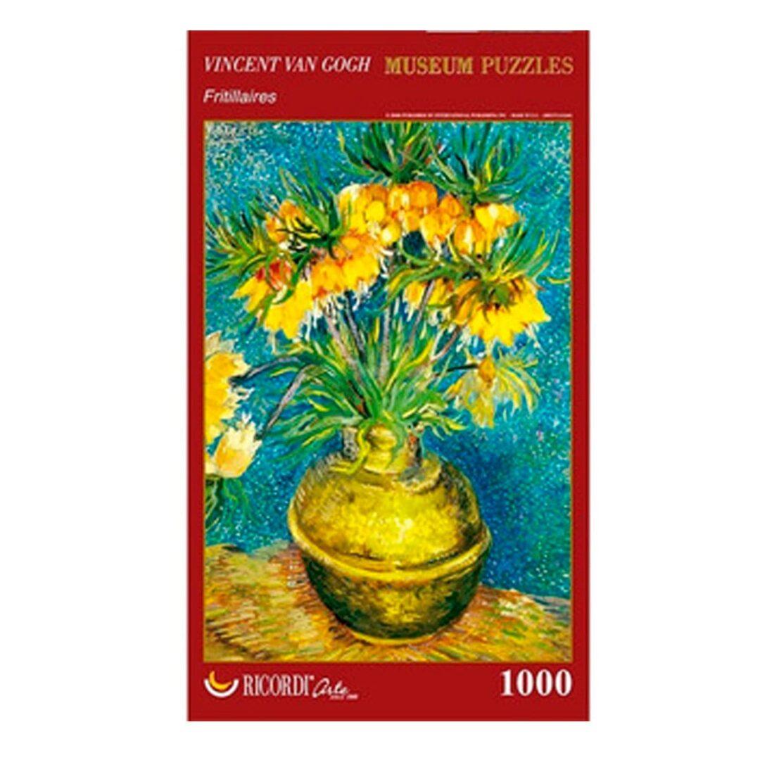 Art Puzzle Vincent Van Gogh Fritillaires rompecabezas