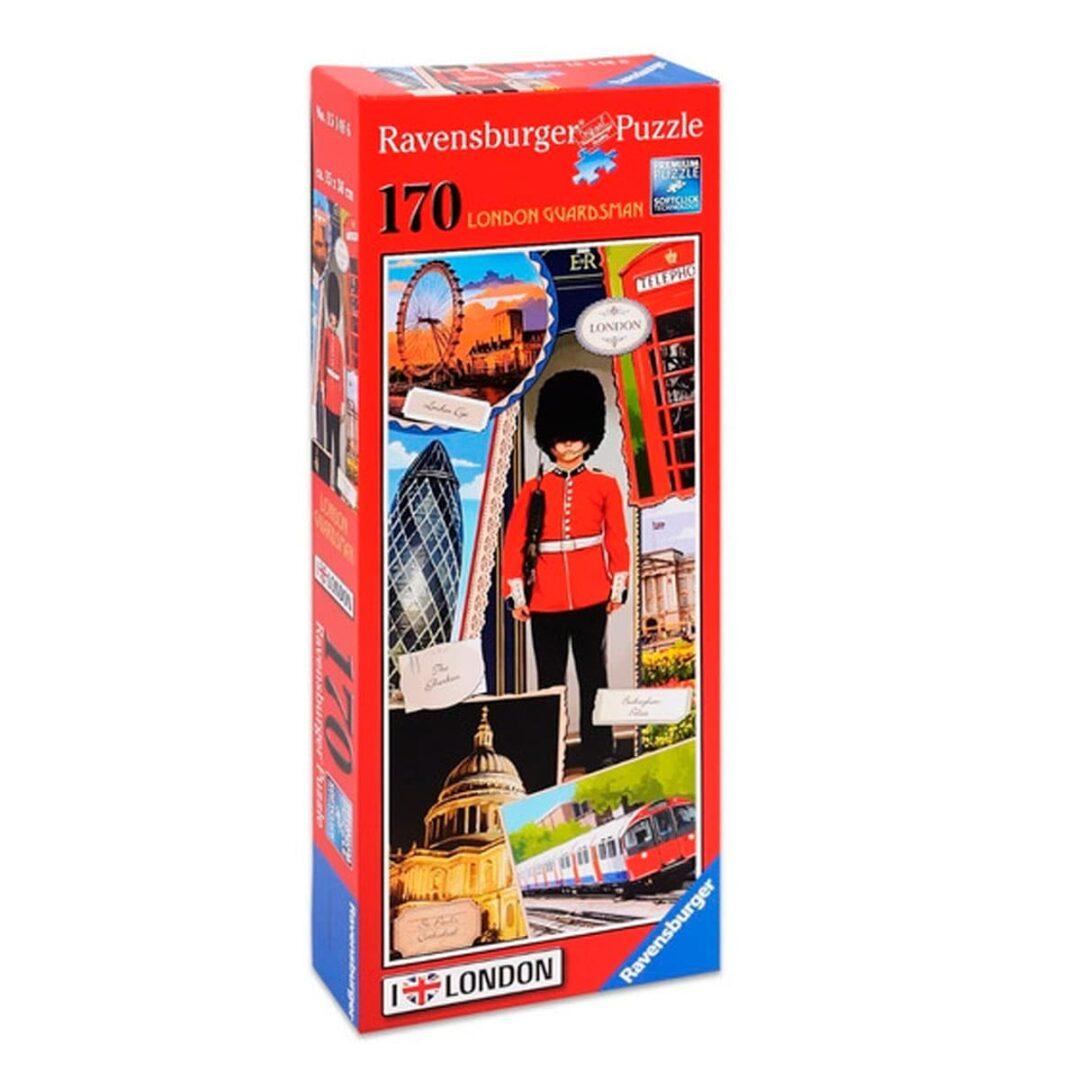 Puzzle London guardsman rompecabezas
