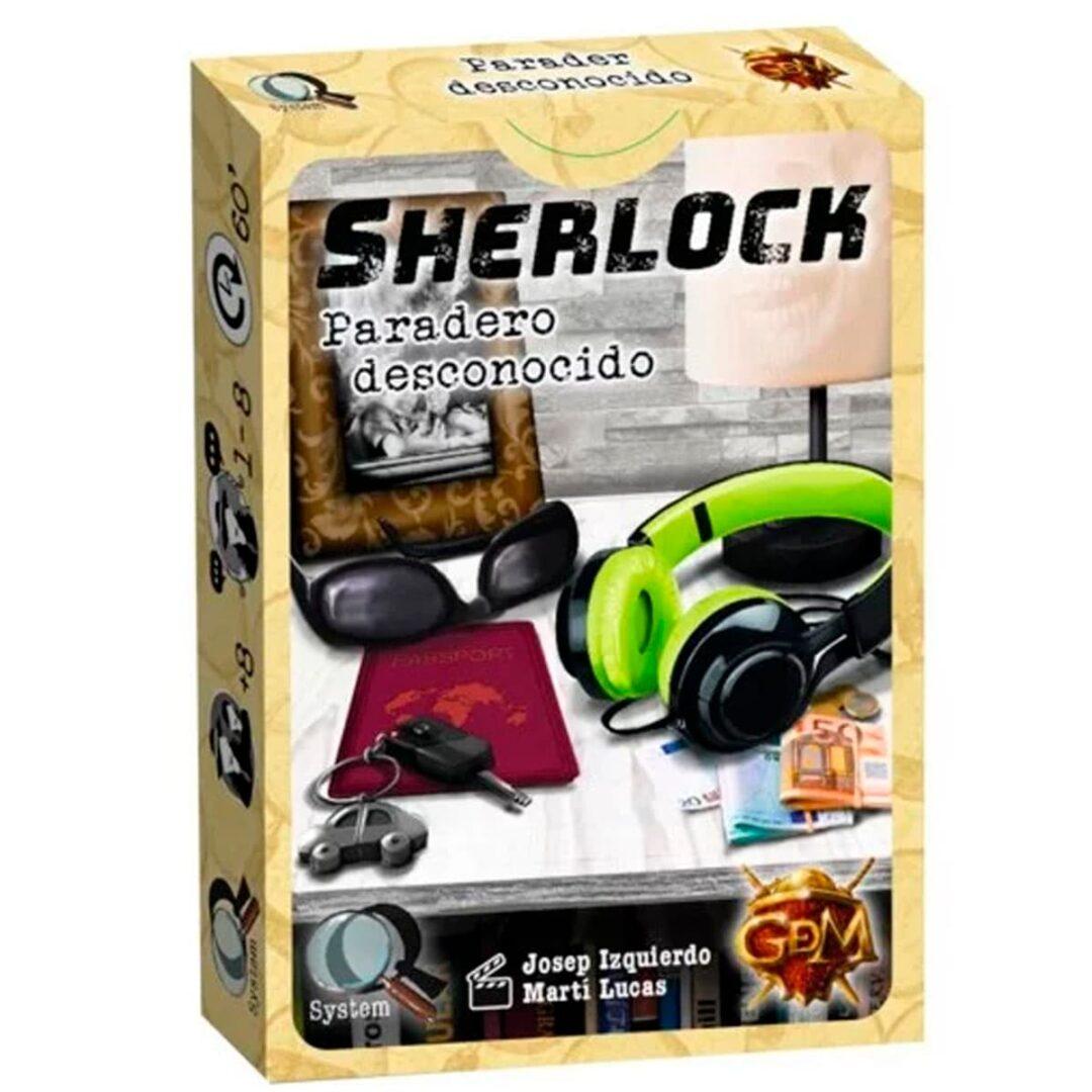 Sherlock paradero desconocido rompecabezas
