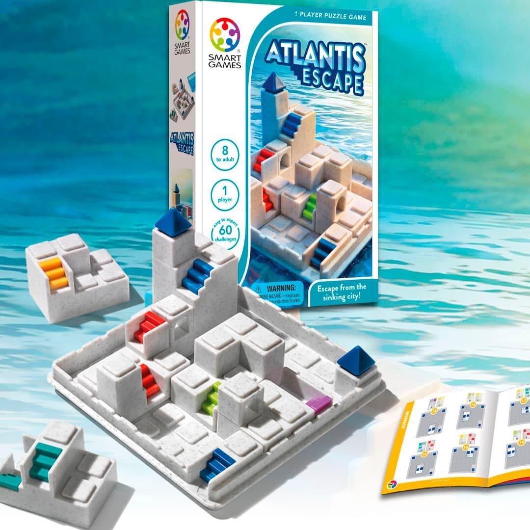 JUEGO DE LÓGICA SMART GAMES: Escape de Atlantis