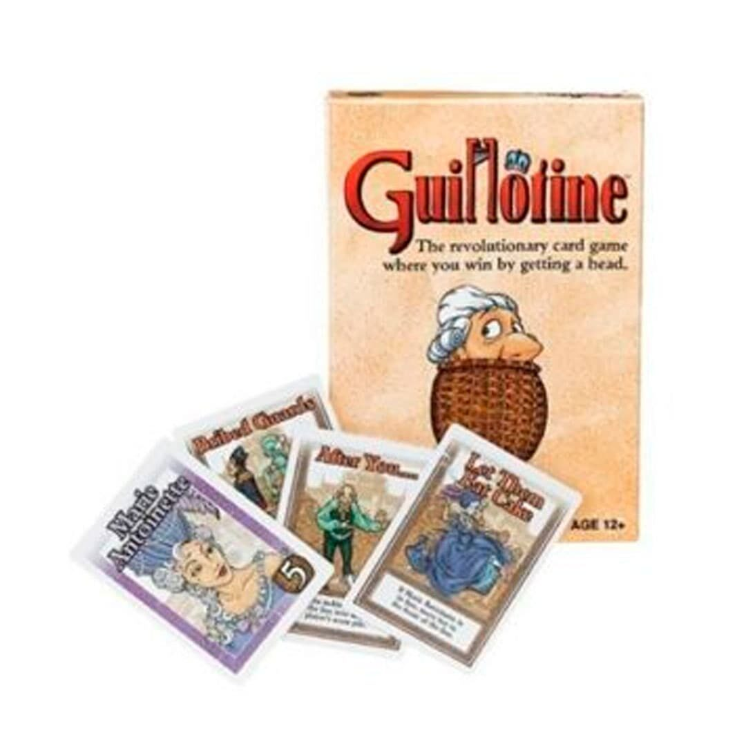 Guillotine the revolutionary card game
