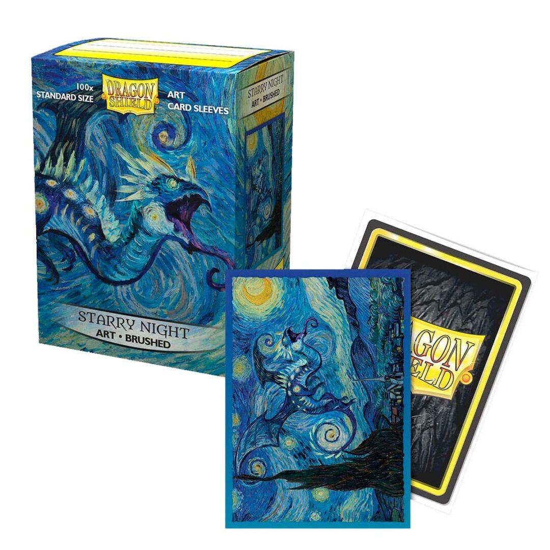 Dragon Shield - Micas STND Art Brushed Starry Night