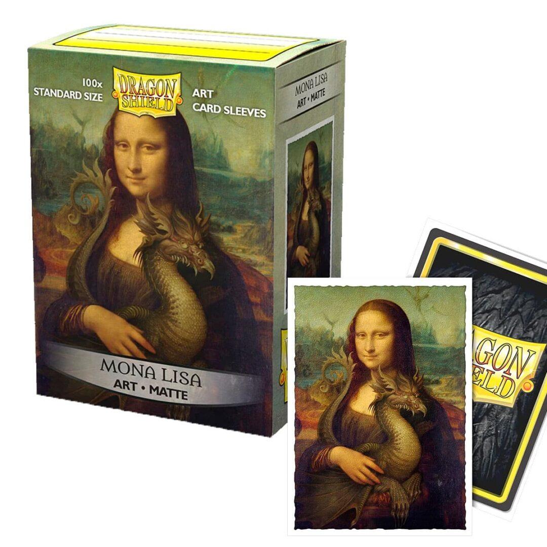 Dragon Shield - Micas STND Art Mona Lisa
