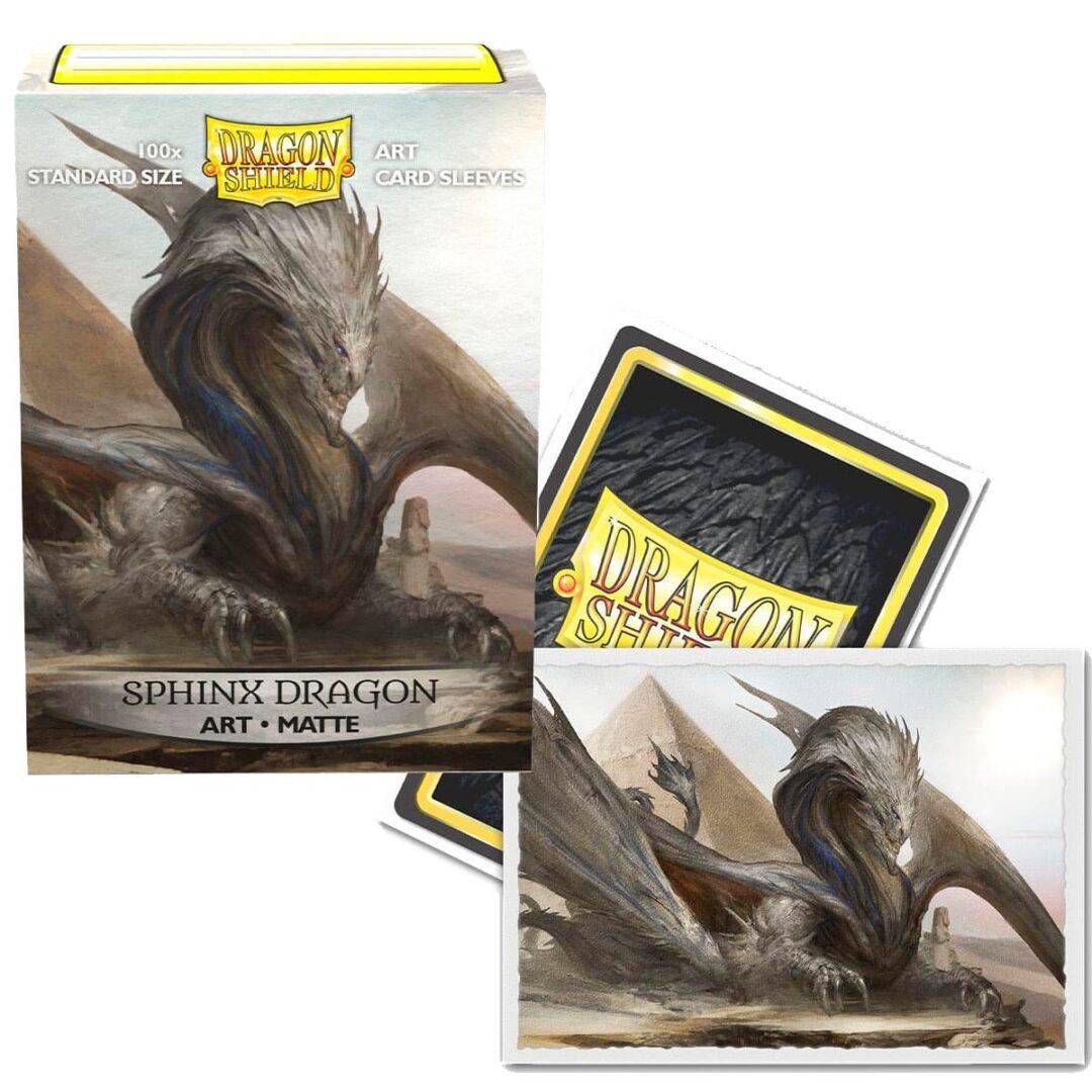 Dragon Shield - Micas STND Art Sphinx Dragon