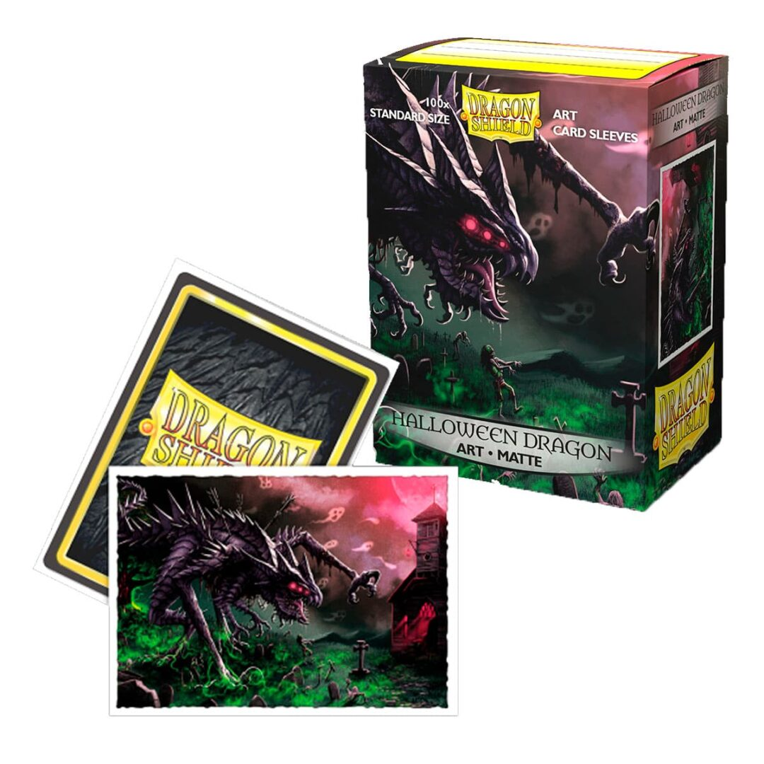 Dragon Shield - Micas STND Matte Art Halloween Dragon