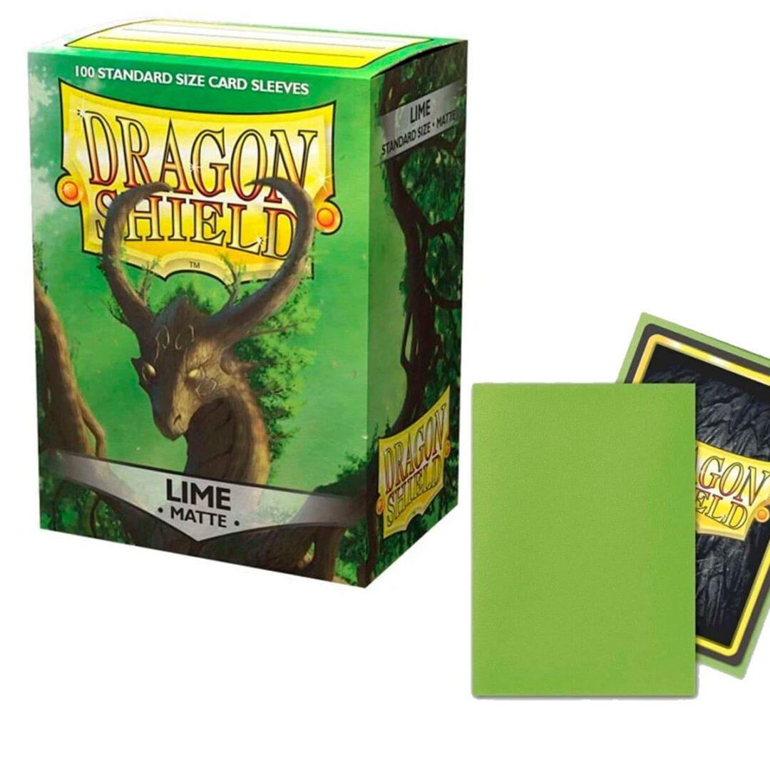 Dragon Shield - Micas STND Matte - Lime