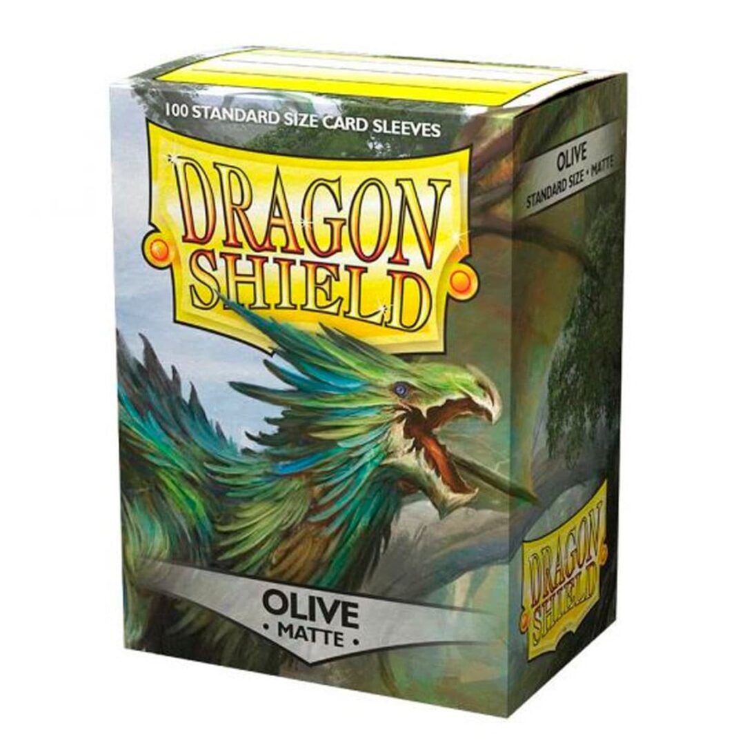 Dragon Shield - Micas STND Matte - Olive