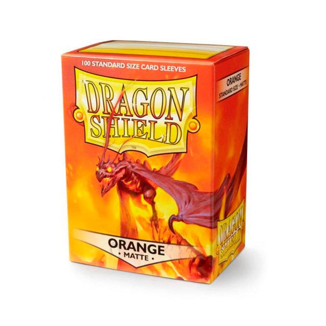 Dragon Shield - Micas STND Matte - Orange