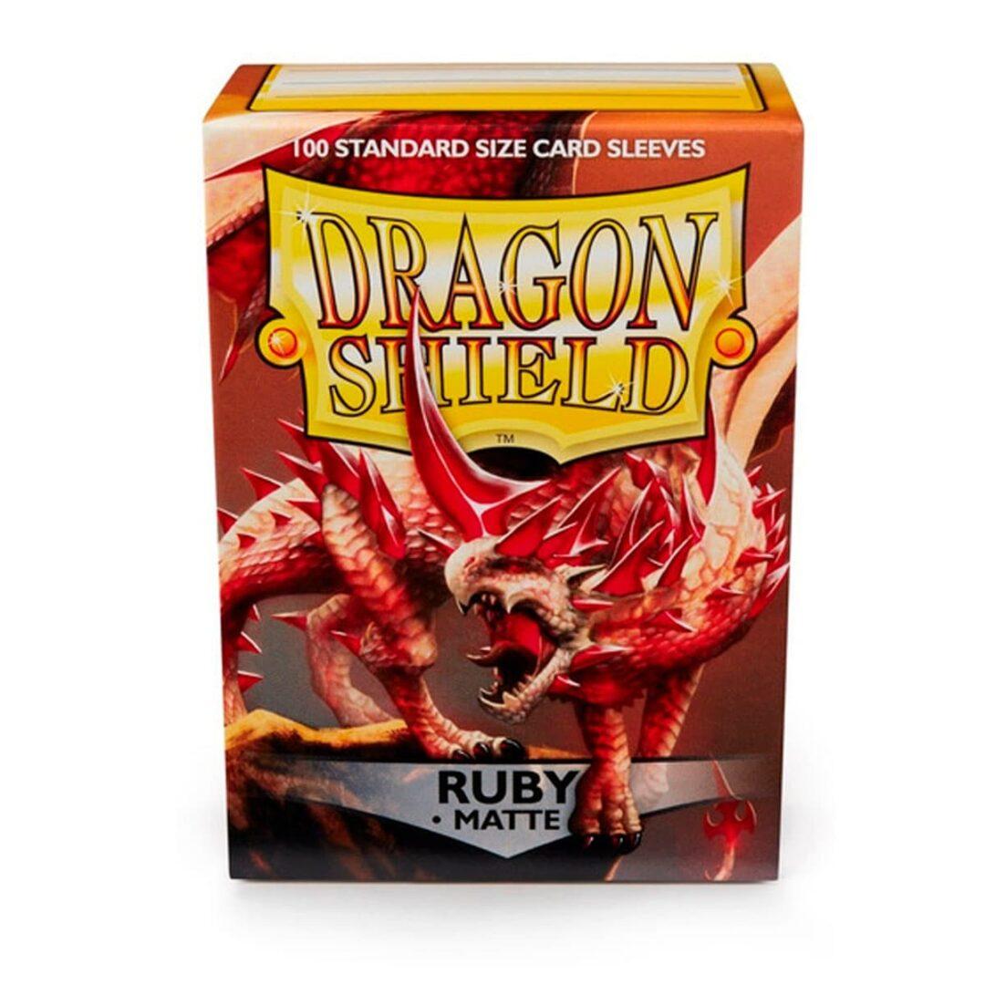 Dragon Shield - Micas STND Matte - Ruby
