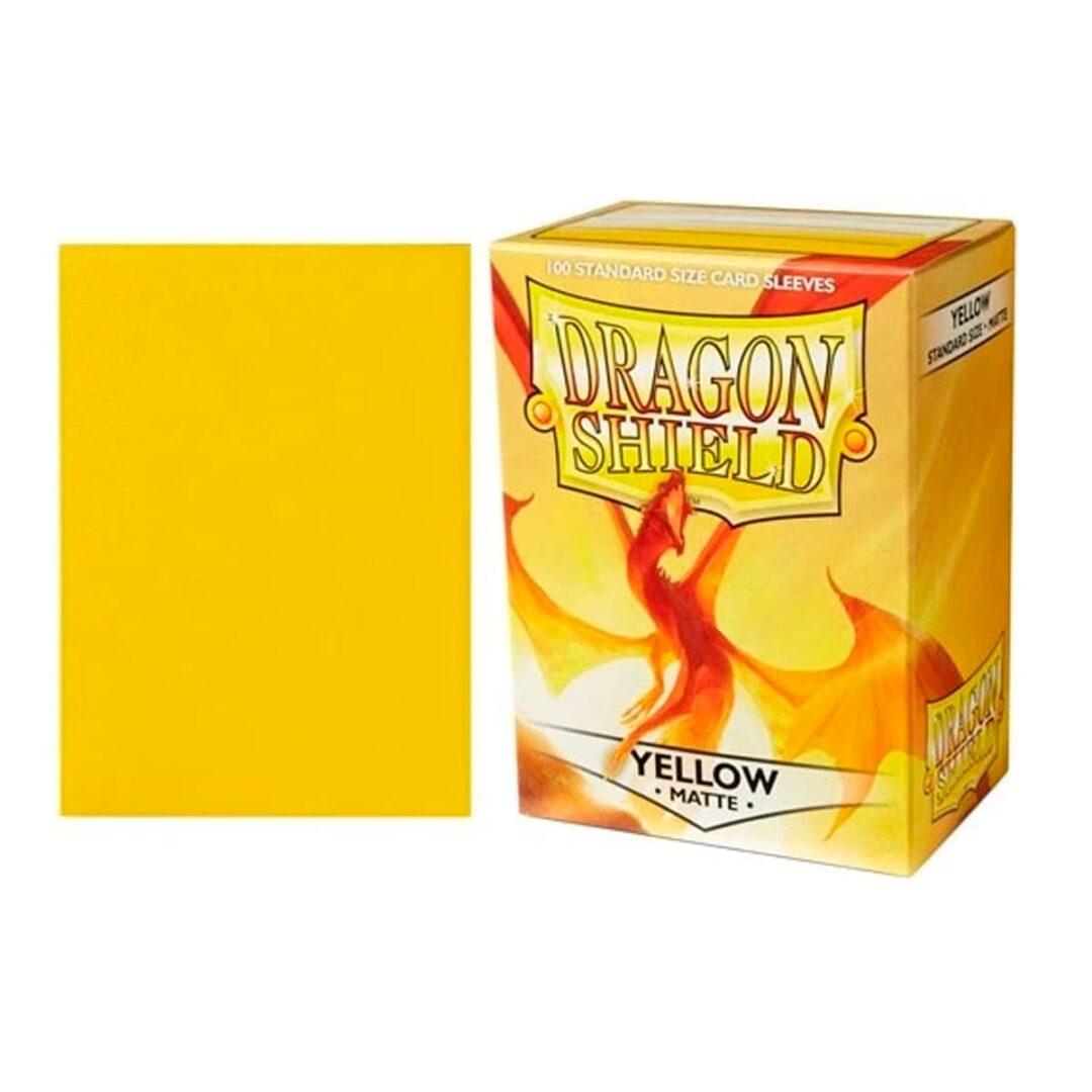 Dragon Shield - Micas STND Matte - Yellow