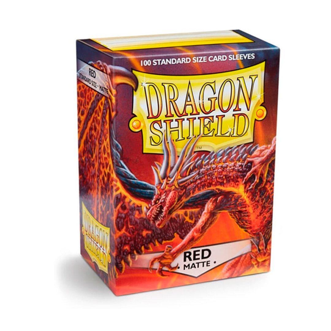 Dragon Shield - Micas STND - Red