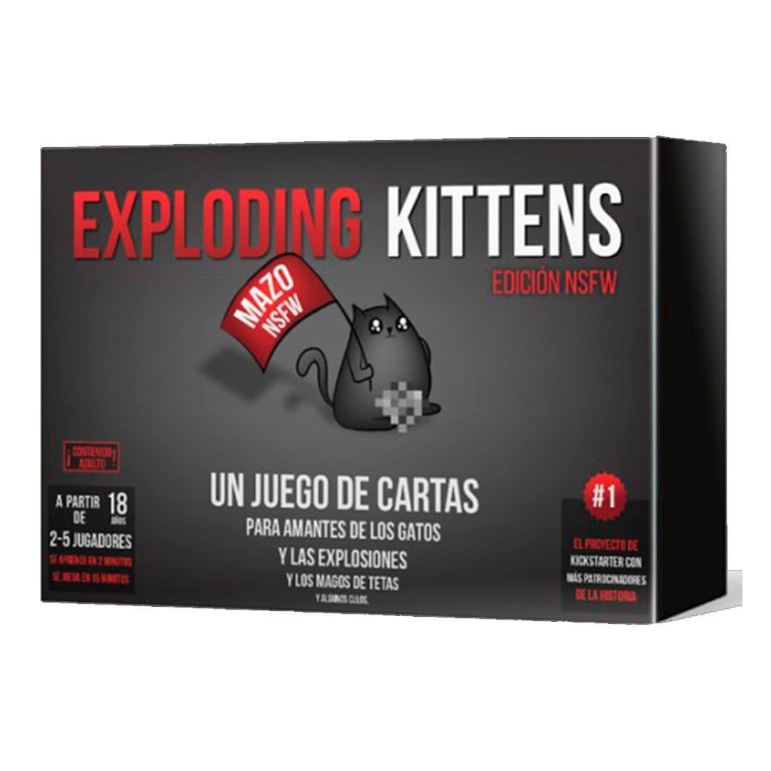 Exploding Kittens NSFW +18